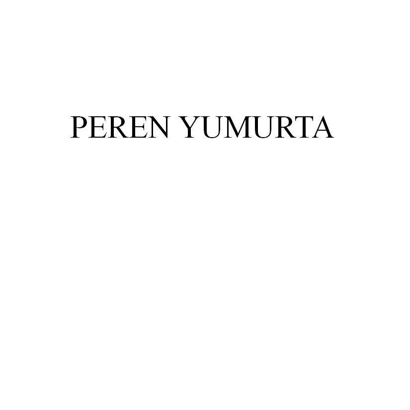 PEREN YUMURTA